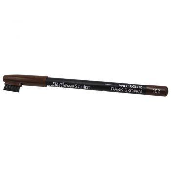 Карандаш для бровей с щеточкой для укладки в оттенке №103 Коричневый от Art Soffio