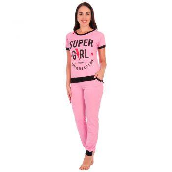 Женский костюм Стиль розовый