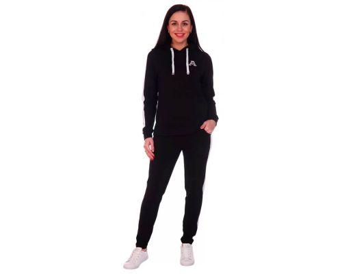 Женский спортивный костюм Шарлотта черный