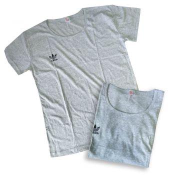 Женская футболка Adidas серая