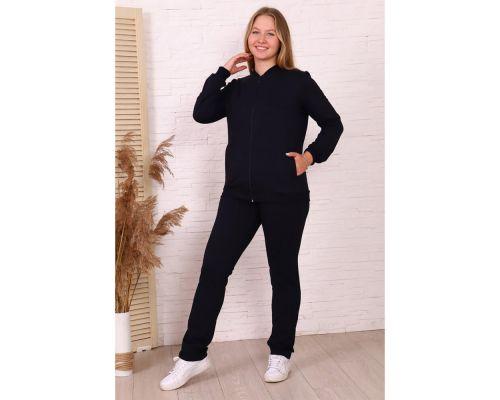 Женский костюм М-535 темно-синий