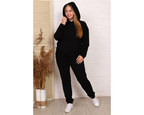 Женский спортивный костюм М-717 черный