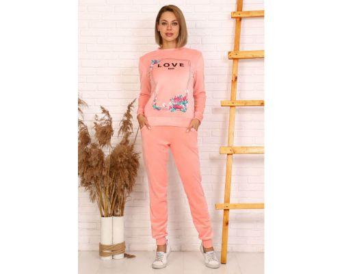Женский костюм 24001 розовый