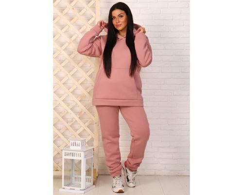 Женский спортивный костюм М-722 розовый