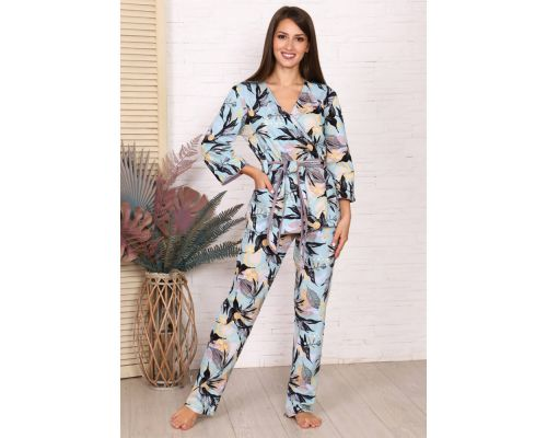 Женская пижама М-725 ментол