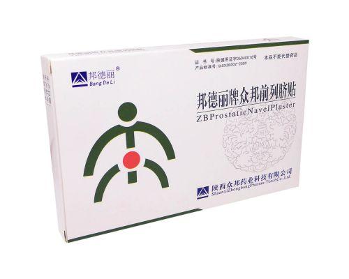 Урологический пластырь ZB от простатита