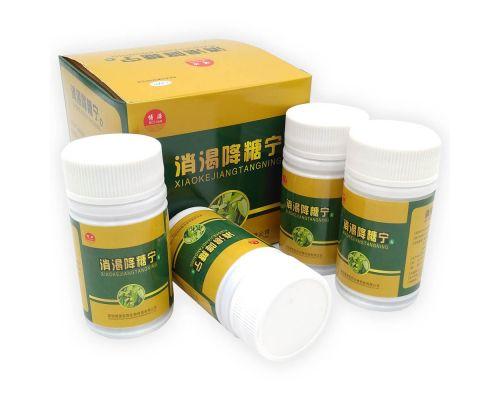Препарат для лечения сахарного диабета XIAOKEJIANG TANGNING