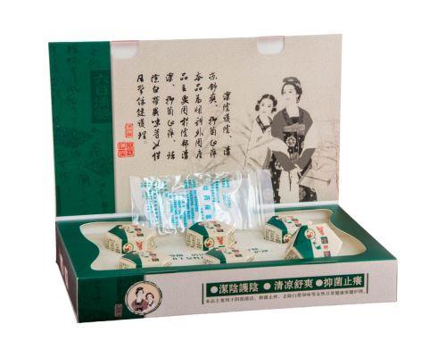Китайские лечебные тампоны Цин Гун Бао