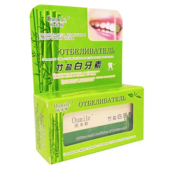 Отбеливатель для зубов с бамбуковой солью