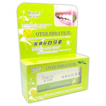 Отбеливатель для зубов с цветами жимолости