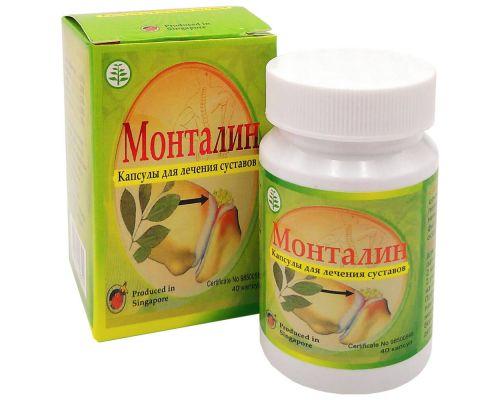 Капсулы для лечения суставов Монталин