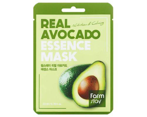 Тканевая маска с экстрактом авокадо от FarmStay
