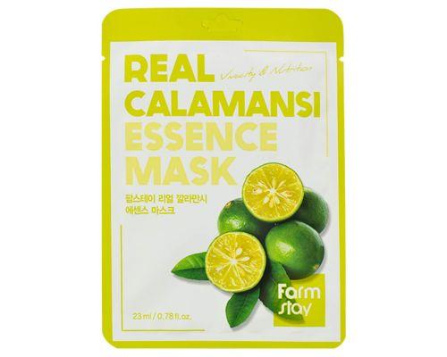 Тканевая маска с экстрактом каламанси от FarmStay