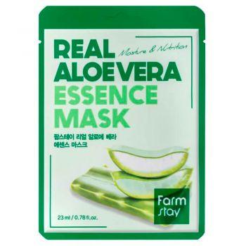 Тканевая маска с алоэ вера от FarmStay