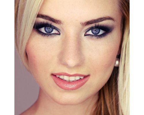 Фиолетовые контактные линзы от DOX