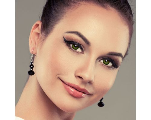 Зеленые контактные линзы от DOX