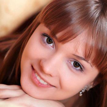 Шоколадные контактные линзы с диоптриями от DOX