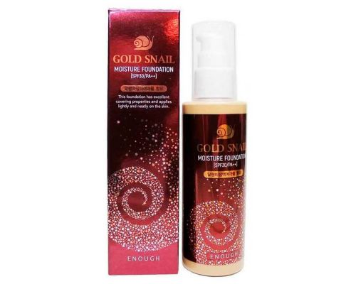 Gold Snail Moisture Foundation SPF30 #21