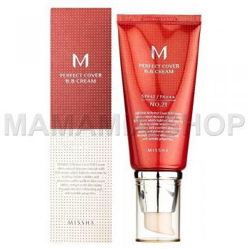 M Perfect Cover BB Cream SPF42/PA+++ №21