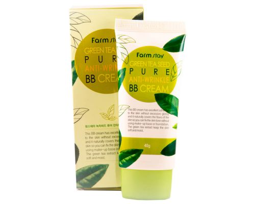 Green Tea Seed Pure Anti-Wrinkle BB Cream
