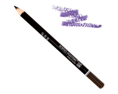 Карандаш для глаз в оттенке №136 Ультра-фиолетовый от Art Soffio