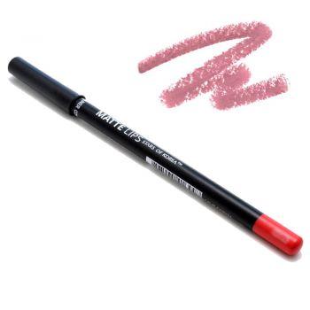 Матовый карандаш для губ в оттенке №0323 Идеально розовый от Art Soffio