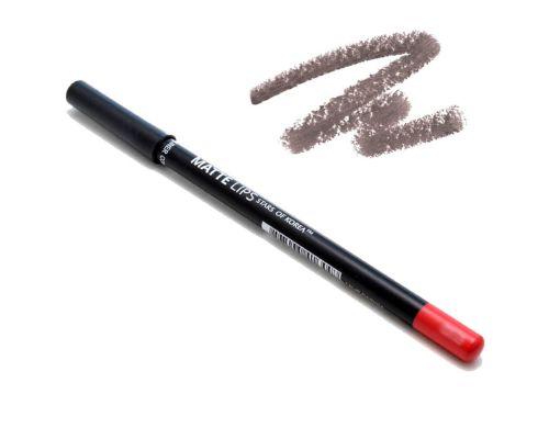 Матовый карандаш для губ в оттенке №0332 Шоколадная мокка от Art Soffio