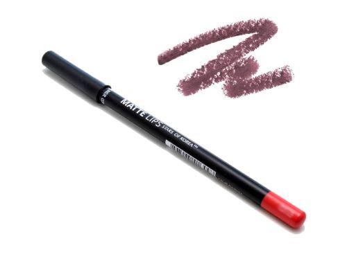 Матовый карандаш для губ в оттенке №0335 Вишневая ягода от Art Soffio