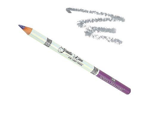 Водостойкий карандаш для глаз в оттенке №06 Серебристый от Art Soffio