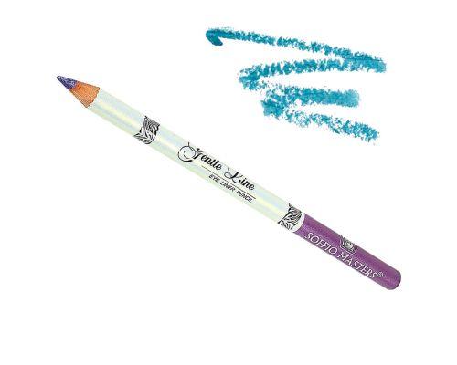 Водостойкий карандаш для глаз в оттенке №07 Голубой Лед от Art Soffio