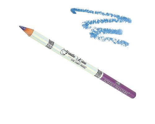 Водостойкий карандаш для глаз в оттенке №14 Небесно-голубой от Art Soffio