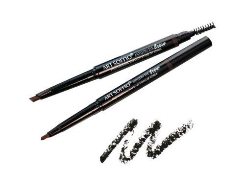 Автоматический карандаш для бровей от Art Soffio