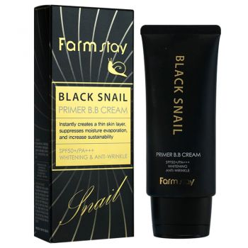 Black Snail Primer BB Cream SPF50+ PA+++