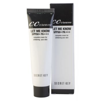 Let Me Know CC Cream SPF50+/PA+++