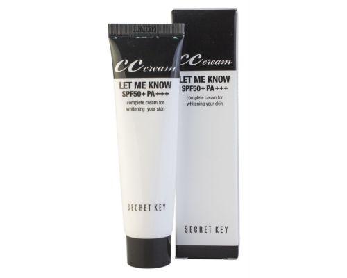 Let Me Know CC Cream SPF50+/PA+++