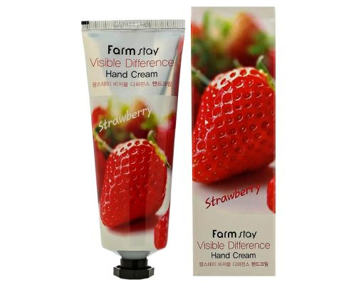 Visible Difference Hand Cream Strawberry