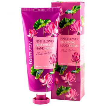 Pink Flower Blooming Hand Cream Pink Lotus
