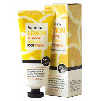 Lemon Intensive Moisture Foot Cream