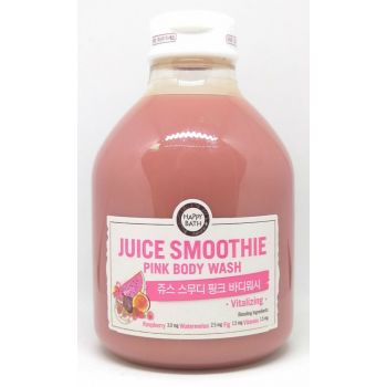Juice Smoothie Pink Body Wash Cleanser