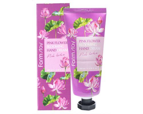 Pink Flower Blooming Hand Cream Pink Lotus