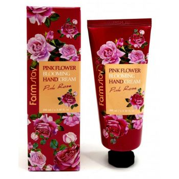 Pink Flower Blooming Hand Cream Pink Rose