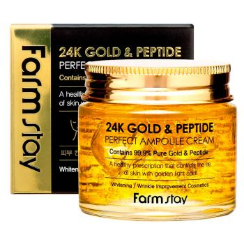 24K Gold & Peptide Perfect Ampoule Cream