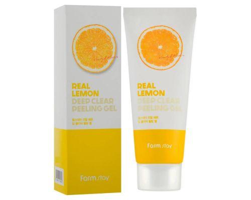 Пилинг-скатка с экстрактом лимона от FarmStay
