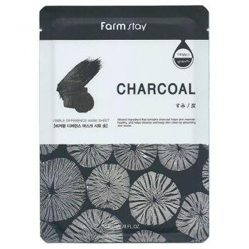 Очищающая маска с экстрактом угля от FarmStay