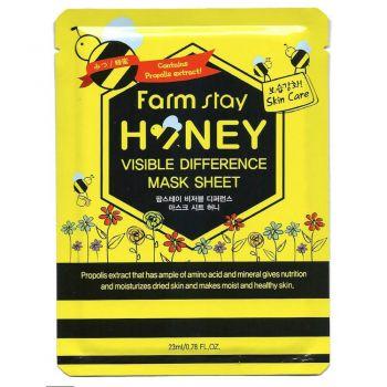 Омолаживающая маска с медом и прополисом от FarmStay