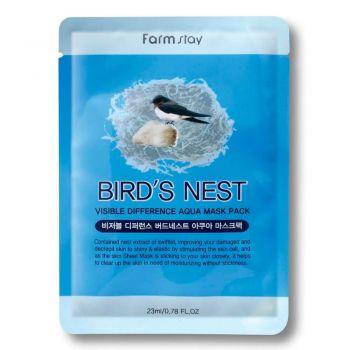 Омолаживающая маска с экстрактом ласточкиного гнезда от FarmStay