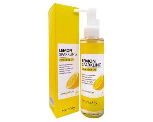 Гидрофильное масло с экстрактом лимона от Secret Key