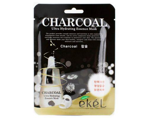 Увлажняющая маска с экстрактом угля от Ekel