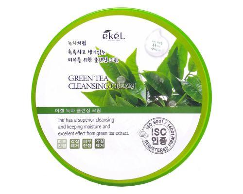 Очищающий крем с экстрактом зеленого чая от Ekel