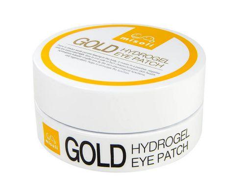 Gold Hydrogel Eye Patch